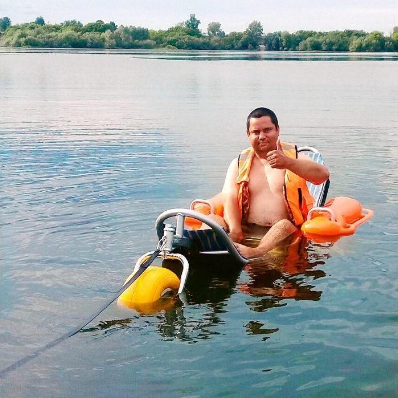 Кресло-коляска пляжная BW-100 Triton