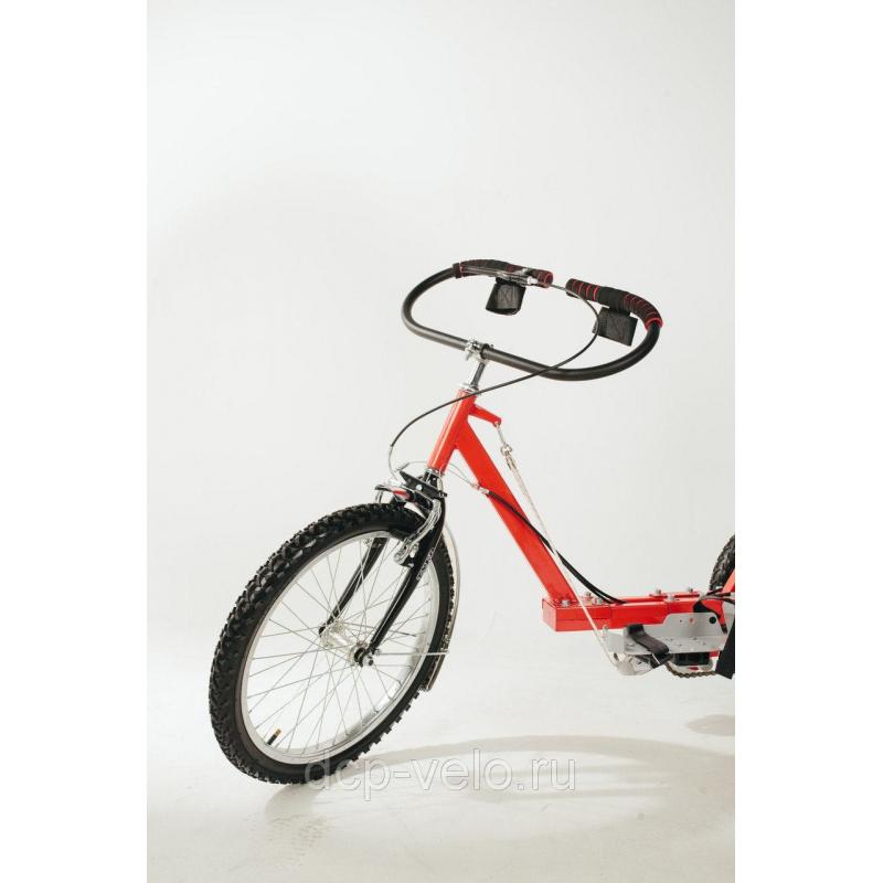 Овальный руль для велосипеда