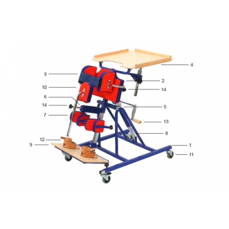 Вертикализатор Taneta 207001 для детей с ДЦП