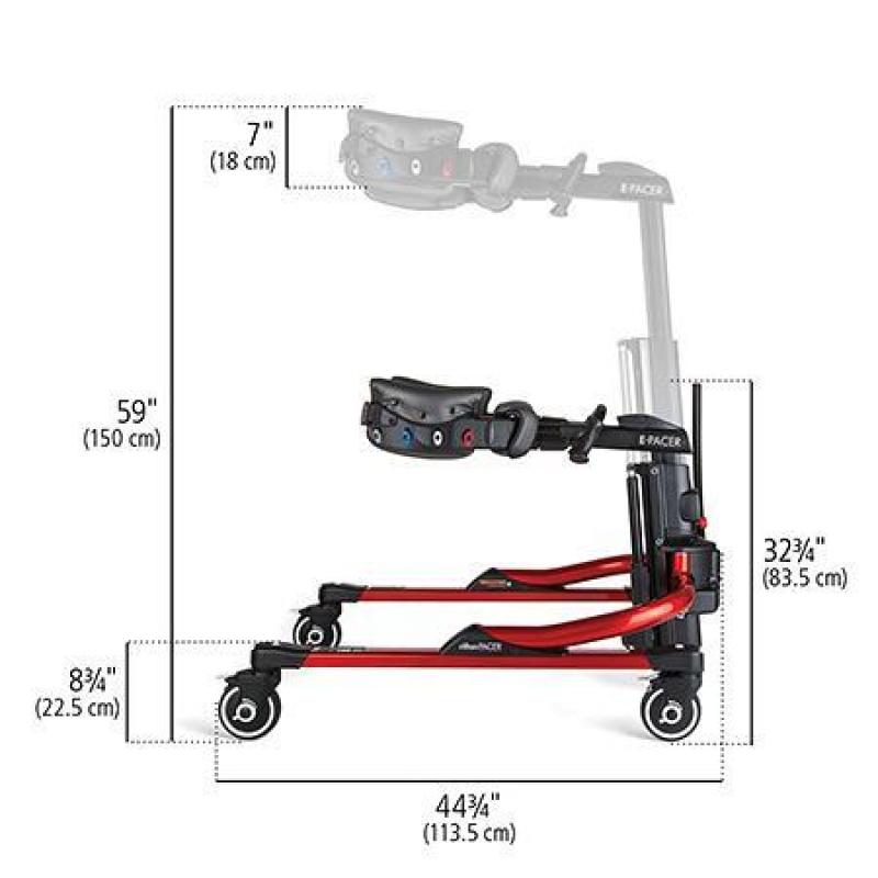 Тренажер ходьбы инвалидов с электроподъемником (ходунки) Е-Пейсер