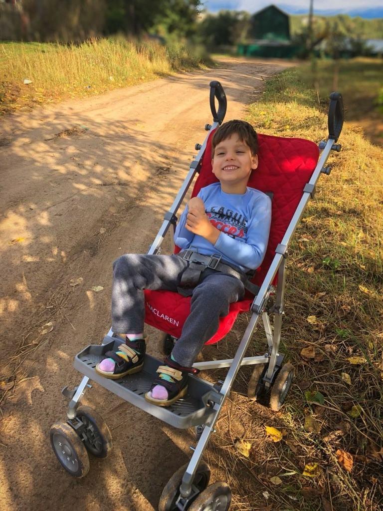 Коляска-трость для детей с ДЦП. ТОП-10