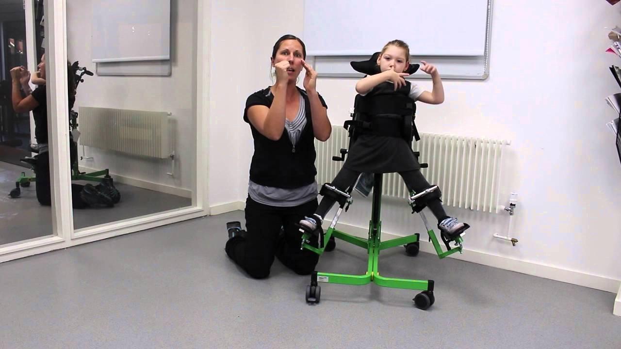 Вертикализатор как основа реабилитации детей ДЦП.