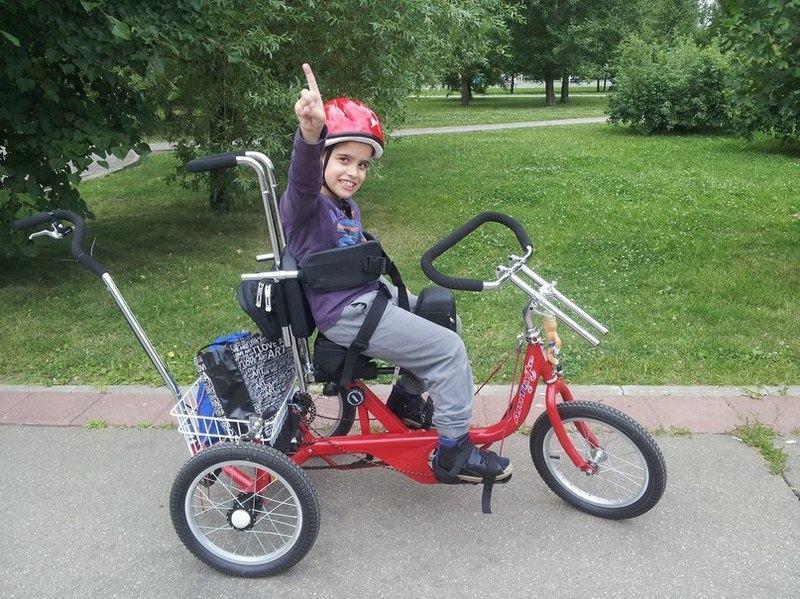 Велосипед для детей с ДЦП: купить и не прогадать.