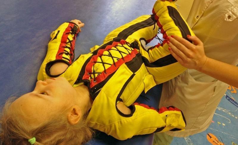 Обзор нейро-реабилитационного костюма «ЕВА»